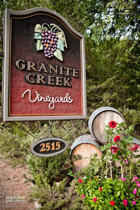 Megan and Kurt's Wedding at Granite Creek Vineyards, Chino