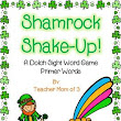 St. Patrick's Day Sight Word Card Game Primer Level