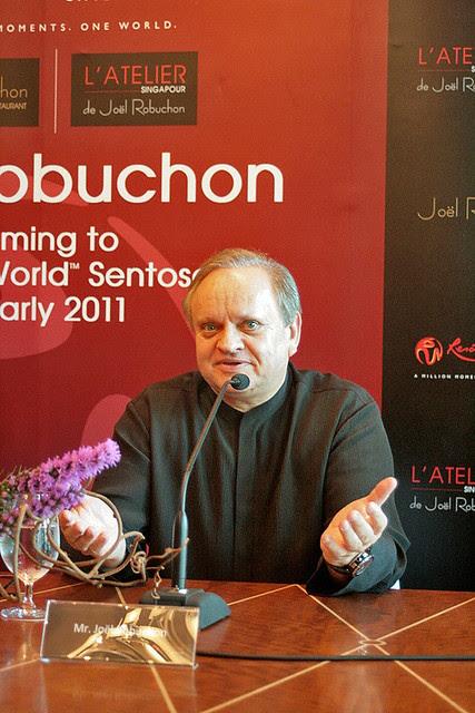 Joël Robuchon in Singapore