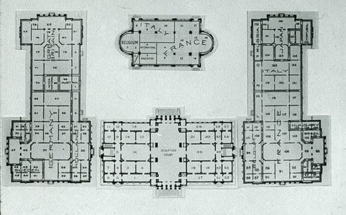 Palace of Art 1904 Floor Plan