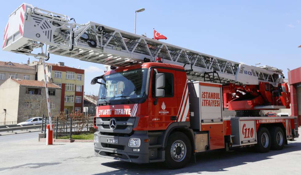 Araçlarımız Istanbul Itfaiyesi