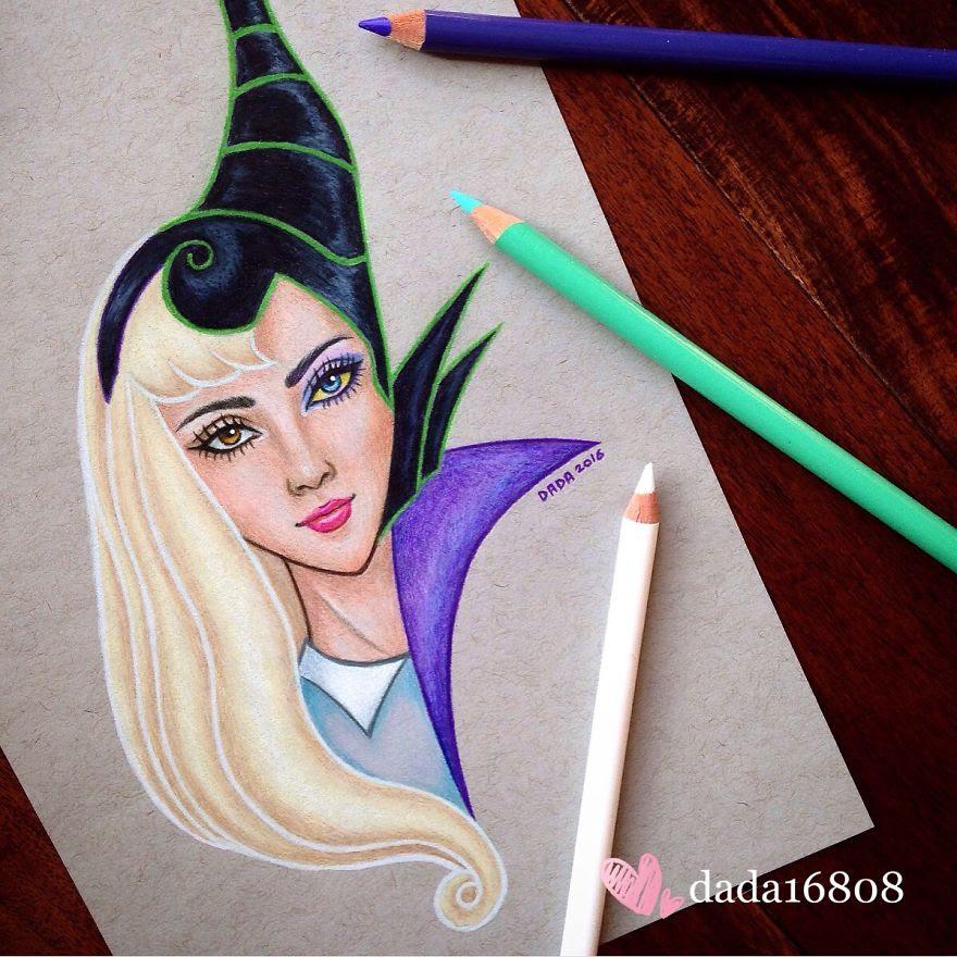 Aurora vs Maleficent