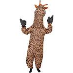 Giraffe Inflatable Chub Suit Halloween Costume Cosplay Jumpsuit