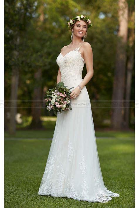 Stella York illusion Lace Wedding Dress Style 6194 $329.00