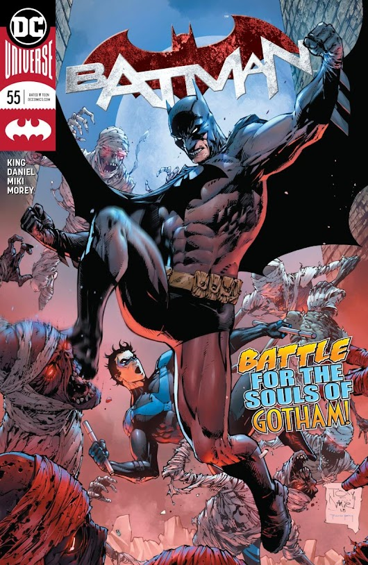 Batman #55 review