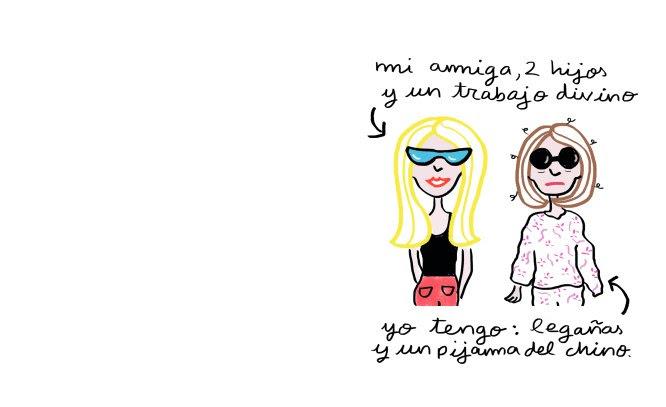 Poema ilustrado de Monstruo Espagueti, autora de '¡estás FATAL!'.