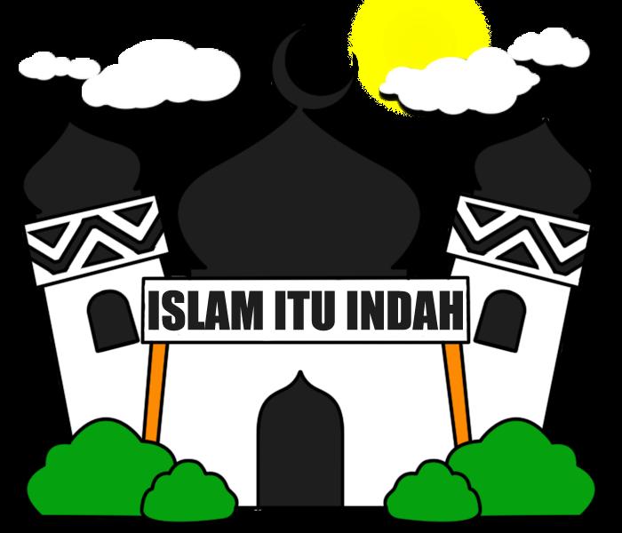 Gambar Mewarnai Masjid Clipart Best Clipartsco