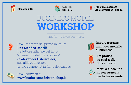 Offerta sul Business Model Workshop di fondieuropei.eu a Napoli -