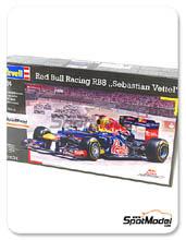 Kit 1/24 Revell - RB 8 Total - Nº 1 - Sebastian Vettel - Campeonato del mundo 2012