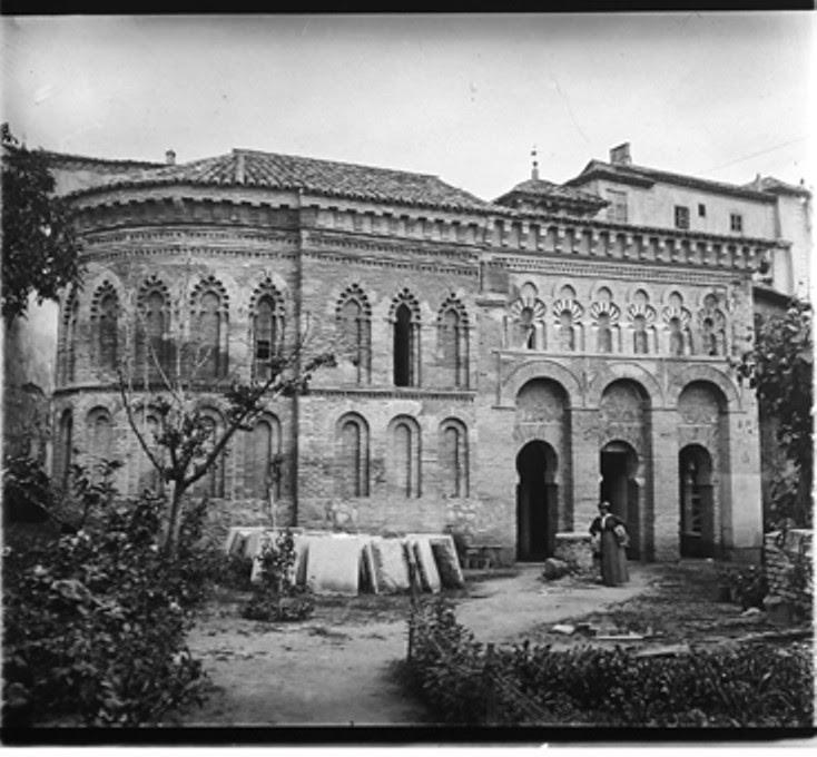 1-04-D. Ribes. Toledo. El Cristo de la luz. Gelatinobromuro sobre cristal (6 x 13); versión digitalizada. Mayo 1915. Colección Guillot-Ribes.