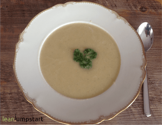 Kohlrabi Celeriac Soup - Grab this Mouthwatering Fitness Soup Recipe!