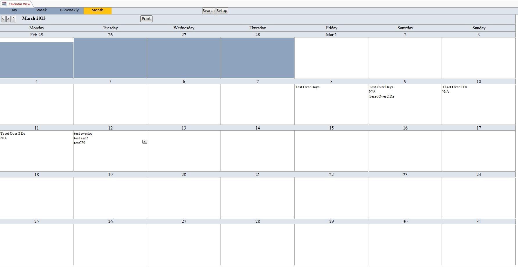 microsoft excel calendar template 2010