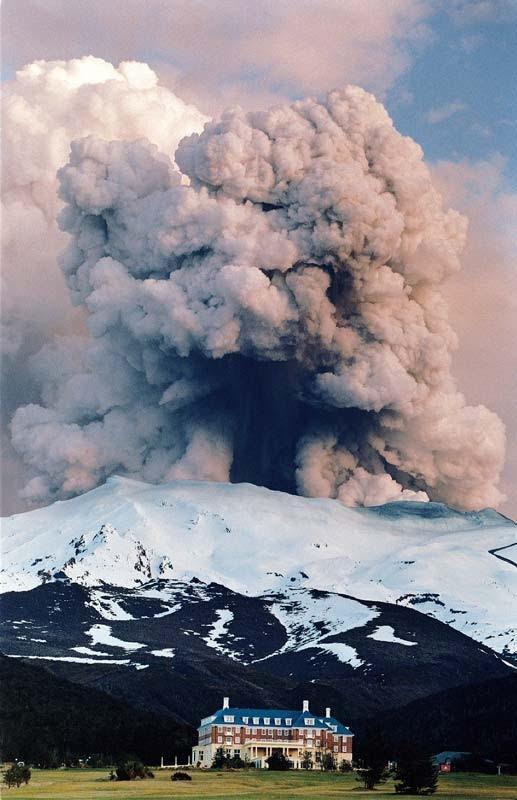 Volcanic Eruption, New Zealand