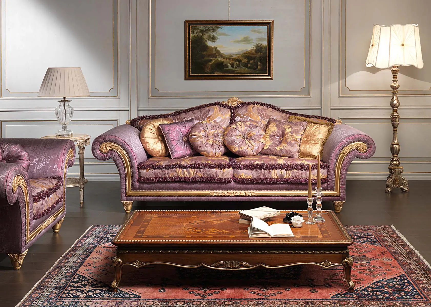 Luxury Classic Sofa and Armchairs – Imperial by Vimercati Media  DigsDigs