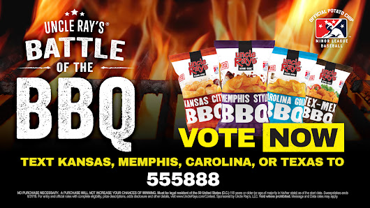 Battle of the BBQ Sweepstakes from Uncle Ray's invites fans to vote for their favorites - American Sweepstakes