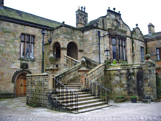 Entrance To Whalley Abbey Conference Alexander P Kapp