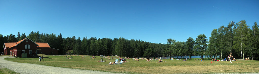 Lazy Day At Lake Rudan (Panorama Version)