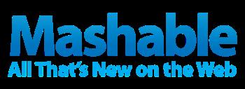 English: Mashable.com logo as of late 2008