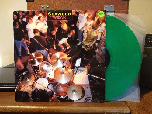 Seaweed - Weak LP - Green Vinyl by Tim PopKid
