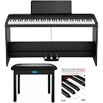 KORG B2SP 88-Key Digital Piano with Stand, Three-Pedal Unit, Knox Bench and Book