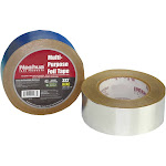 "Tyco Adhesives Foil Tape, 2"" x 50 yrd"