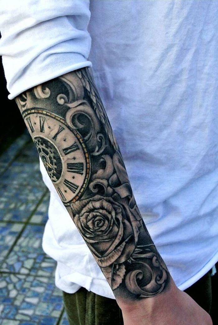 Für unterarm männer tattoos schöne 50 Badass