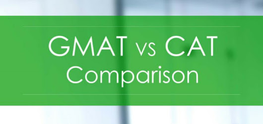 GMAT VS CAT Comparison
