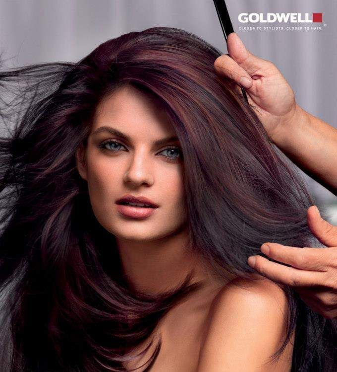 Think I really like this color going on here Rosie Rose    Gorgeous vinbrant brown tones.
