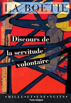 Couverture Discours de la servitude volontaire