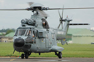 Eurocopter AS 332 Super Puma with Prime Minist...