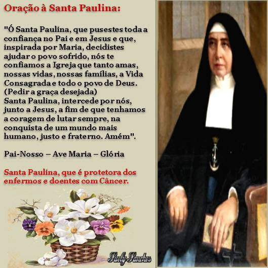 Dia de Santa Paulina Imagem 4