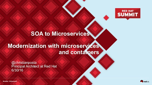 SOA to Microservices