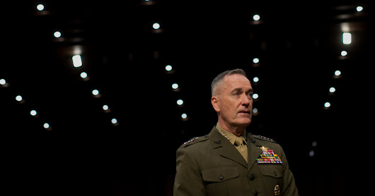 Marine Selected to Head Joint Chiefs - NYTimes.com