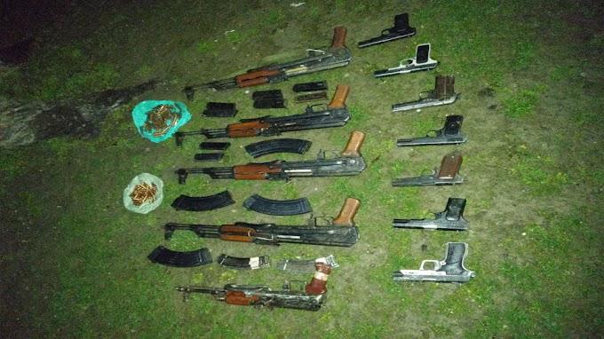 Jammu-Kashmir के Kupwara में हथियारों का बड़ा जखीरा बरामद, नाकाम हुई आतंकियों की साजिश