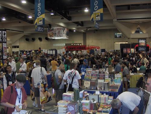 Busy busy Comic-Con