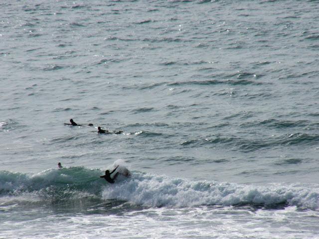 Sesión de surf del 15 de Mayo del 2007, Sopelana, surfing