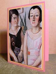 *Two Ladies* Notecard