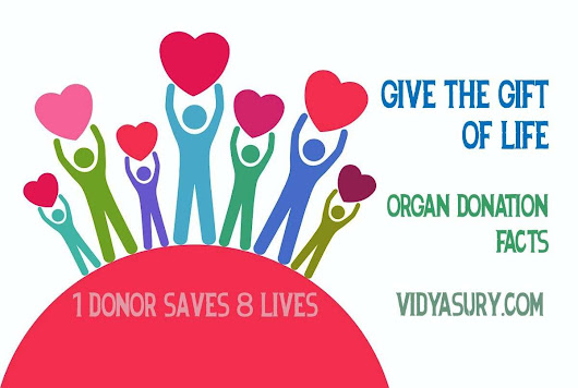 Have you pledged your organs? #OrganDonationDay | Vidya Sury, Collecting Smiles