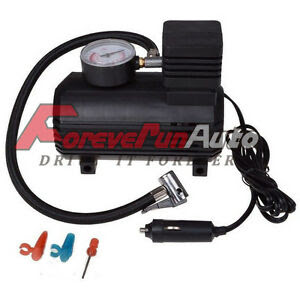 V Car Auto Portable Pump Tire Inflator Mini Air