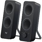 Logitech Z207 Computer Speakers - 2.0 Channel - 5W RMS - Pair - Wireless - Black
