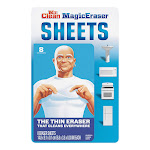 Mr Clean Sheets, Magic Eraser - 8 sheets