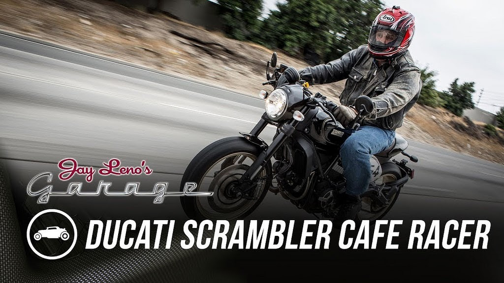 2017 Ducati Scrambler Cafe Racer - Jay Leno's Garage : Liked on YouTube http://dlvr.it/PRC5Kq