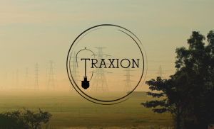traxion with graphic and logo