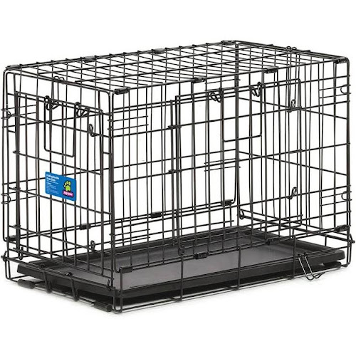 Google Express Top Paw Double Door Wire Dog Crate Size 22l X 13