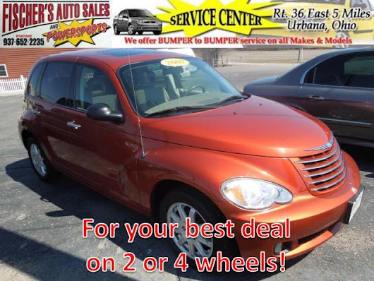 Used 2007 Chrysler PT Cruiser for Sale in Urbana OH 43078 Fischer's Auto Sales & Powersports