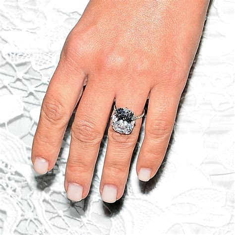 Kim Kardashian Engagement Ring and Manicure   POPSUGAR Beauty