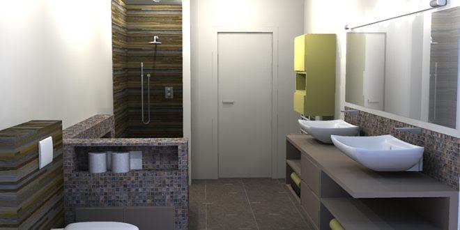 Homify dise os de ba os modernos para casas - Modelos de banos y duchas ...