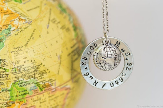 Travel Jewelry: Handmade Travel Themed Jewelry for Travelers