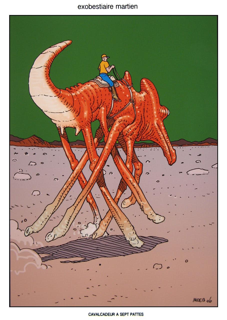 Moebius - Martian 4