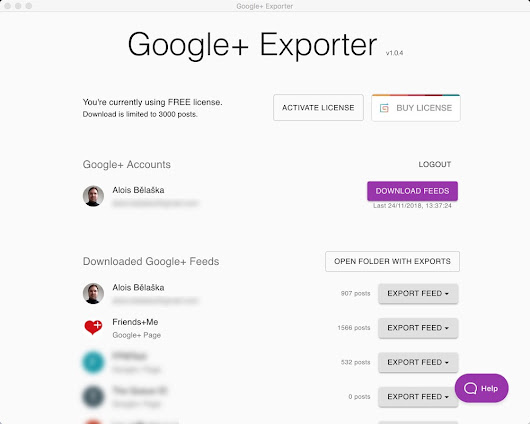 Export Google+ feeds to Wordpress or JSON file – Friends+Me